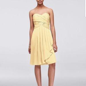 bcd7c0fff8eaa Women s Davids Bridal Canary Yellow on Poshmark